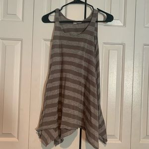 Urban outfitters project Social T striped tank top